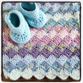 Rico Baby Blanket Pastel