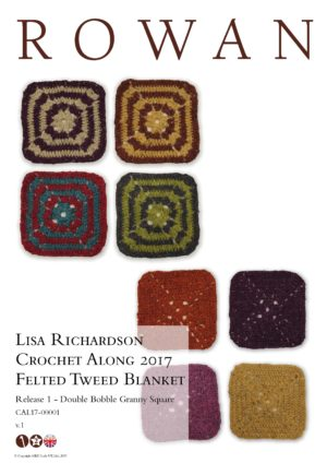 Crochet Along 2017 Felted Tweed Blanket
