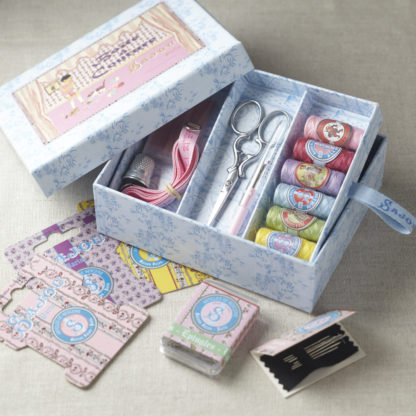 Sajou complete sewing set - Girl and Cat box
