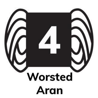 4 - Worsted/Aran