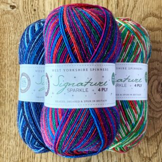 Christmas sock yarn